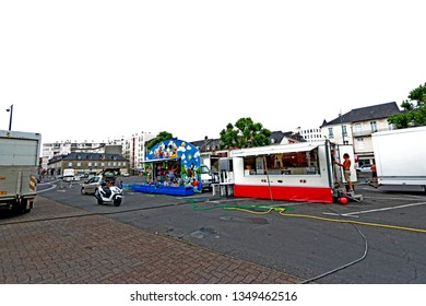 TARBES-FRANCE-JUNE 20 : Tarbes, The local town in the south of France, June 20, 2017, Trabes, France