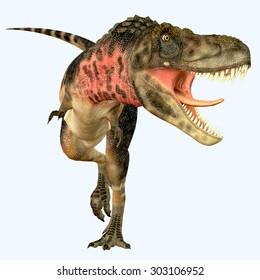 Tarbosaurus Carnivore Dinosaur - Tarbosaurus was a carnivorous theropod dinosaur that lived during the Cretaceous Period of Asia.