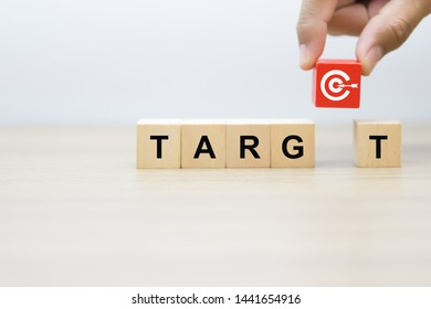 Target, business and success Concept image.