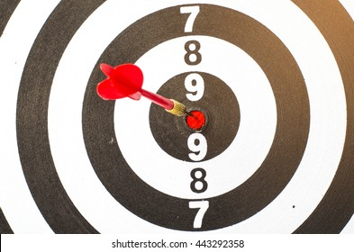 target business,target achieve and target to victory concept .