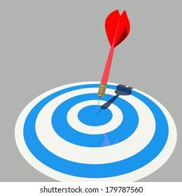 target dart market business