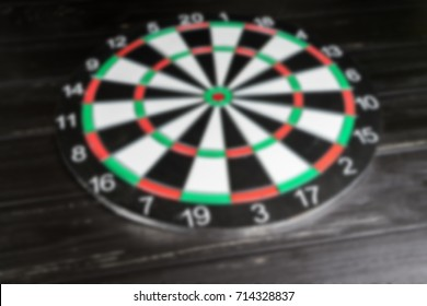 Darts Dart Board Stock Photo (Edit Now) 1117186433