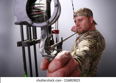 Target practice with a compound bow