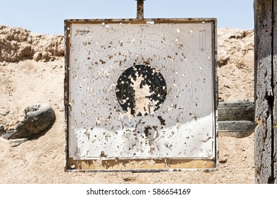 target at the shooting range