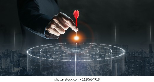 Targeting the business concept - Shutterstock ID 1120664918