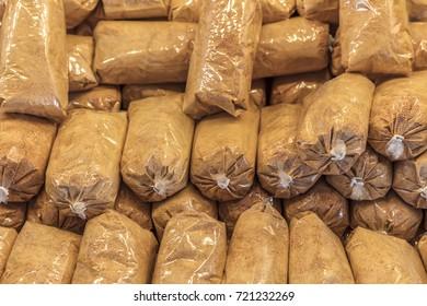 Tarhana Soup in packed market
