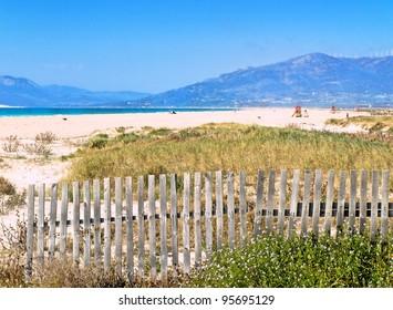 Tarifa, Andalusia, beach of los lances