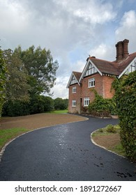 Tarmac Driveway with landscaping works for old house