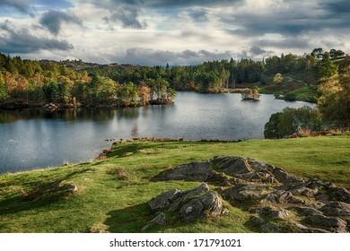 Tarn Hows, near Hawkshead, Lake District, England