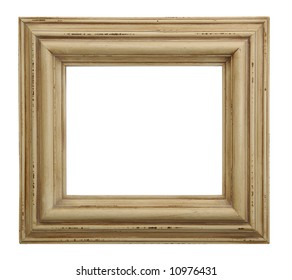 Tarnished Wooden Picture Frame