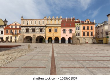 Tarnow. View of the historic old town
