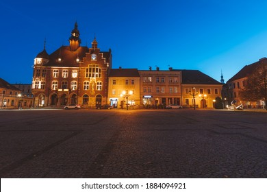 Tarnowskie Gory City Hall. Tarnowskie Gory,  Silesia, Poland. - Shutterstock ID 1884094921