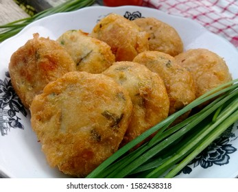 Taro cakes, staple composition consisting of Talas mixed with spices