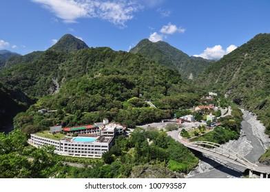 Taroko Gorge National Park at Tianxian, Taiwan