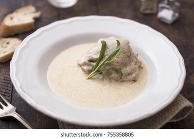 Tarragon Chicken plate