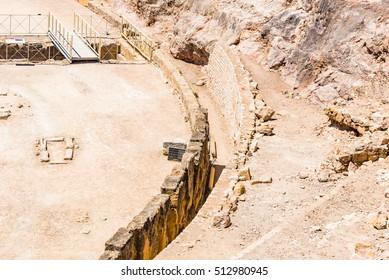 Tarragona Amphitheatre in Spain - A UNESCO World Heritage Site