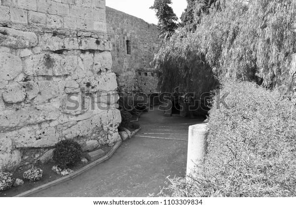 Tarragona Castle, Tarragona, Spain
