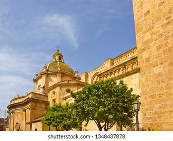 Tarragona Cathedral, dating to the 12th-13th centuries. Cathedral is a place of worship