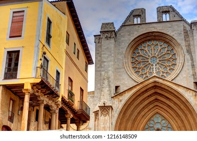 Tarragona landmarks, Catalonia, Spain