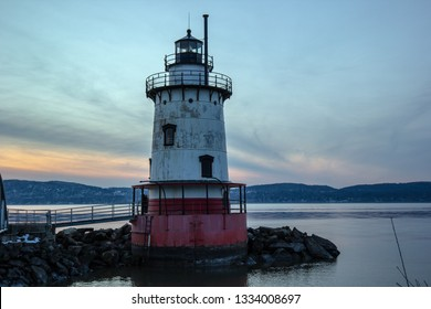 Tarrytown Light, also known as Kingsland Point Light and Sleepy Hollow Light, is a sparkplug lighthouse on the east side of the Hudson River in Sleepy Hollow, New York, United States.
