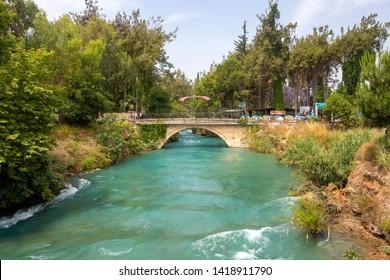 Tarsus / Mersin / Turkey, June 4, 2019, Tarsus waterfall