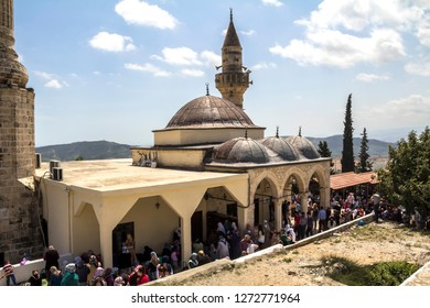 Tarsus, Mersin, TURKEY, May 5, 2014: Seven sleepers mosque aka Yedi uyurlar camii and Cave of seven sleepers in Tarsus