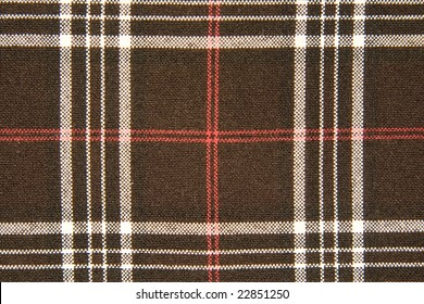 Tartan fabric (as a background)