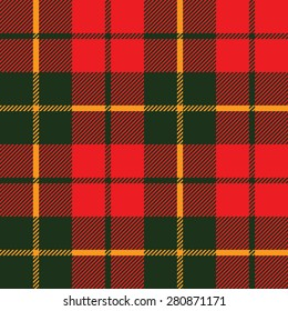 tartan fabric texture in a square pattern seamless