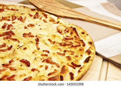 Tarte flambee - French pizza