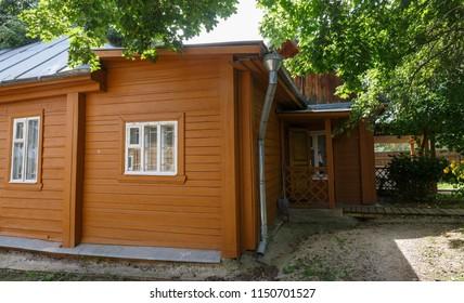 Tarusa, Kaluga region. 5 August 2018. Home-museum of Zvetaev family