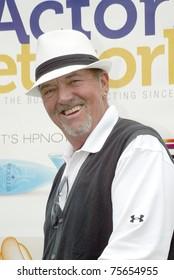 "TARZANA, CA - APRIL 18: Gregory Itzin arrives at the 8th annual ""Hack n' Smack, Kerry Daveline Memorial, Celebrity Golf Classic"" on April 18, 2011 in Tarzana, CA"