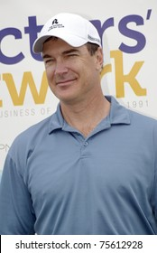 "TARZANA, CA - APRIL 18: Patrick Warburton arrives at the 8th annual ""Hack n' Smack, Kerry Daveline Memorial, Celebrity Golf Classic"" on April 18, 2011 in Tarzana, CA"