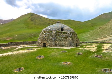 Tash Rabat Caravanserai Settlement Ruins for Ancient Traders Travellers and Caravans Dome Roof