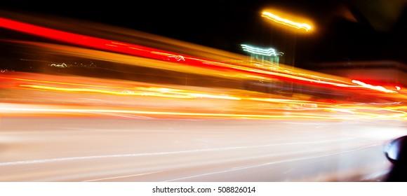 Tashkent at night timelapse