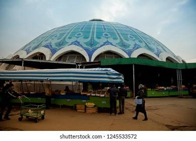TASHKENT, UZBEKISTAN /11.17.2012  Dome-roof oriental bazaar