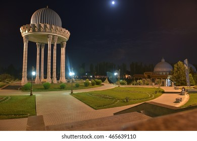 Tashkent, Uzbekistan - August 02, 2015: the Museum of memory of victims of repression - is located in the centre of Tashkent and is among the unique objects of the Academy of Sciences of Uzbekistan.