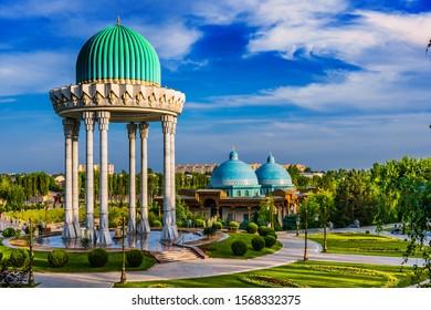 TASHKENT, UZBEKISTAN - MAY 12, 2019: Memorial to the Victims of Repression in Tashkent, Uzbekistan