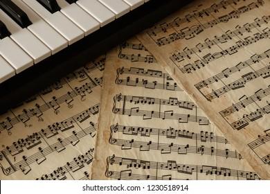 Sheet Music Images, Stock Photos & Vectors   Shutterstock