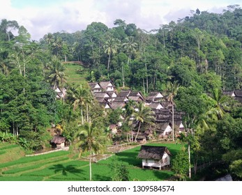 Tasikmalaya Indonesia, February 11th 2019, Kampung Naga, the atmosphere of a traditional village in the village of Naga Tasikmalaya.