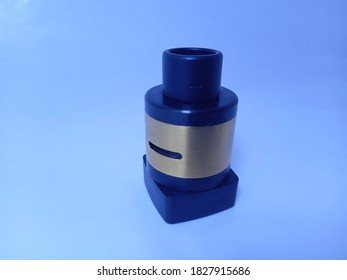 """""""Tasikmalaya, Indonesia - September 7, 2020: Image of RDA Vape for, RDA as a Function to Produce Smoke from a Vape without an RDA Vape Will Not Work"""""""
