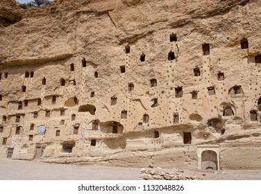 Taskale historic granaries in the town Karaman of Konya ,Turkey