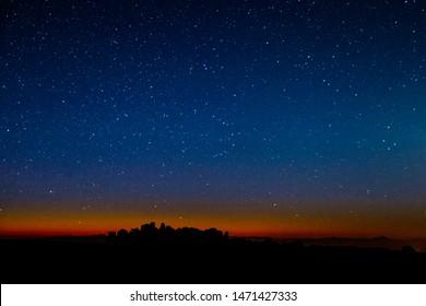 Tasmanian Stars and Wild Mountains