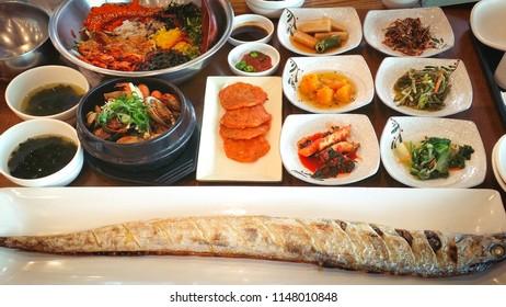Taste Korean seafood