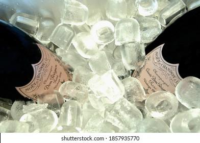 Tasting Dom Perignon champagne vintage Rose