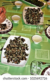 tasting of the famous barnacles of Galicia