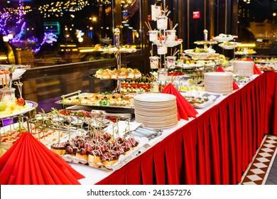 Christmas Buffet Images Stock Photos Vectors Shutterstock
