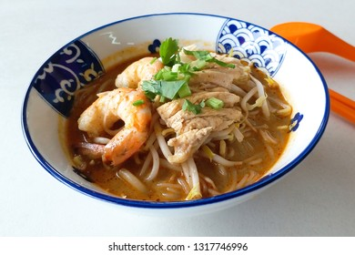 Tasty bowl of Sarawak Laksa