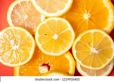 tasty citrus fruits