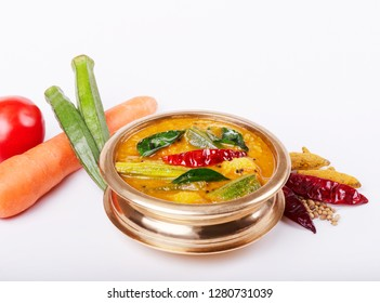 Tasty and delicious sambar