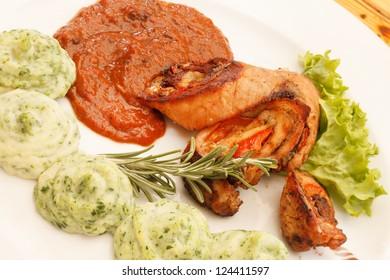 tasty dish
